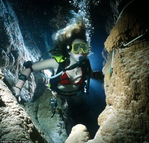21 Amazing Photos of Cave Diving