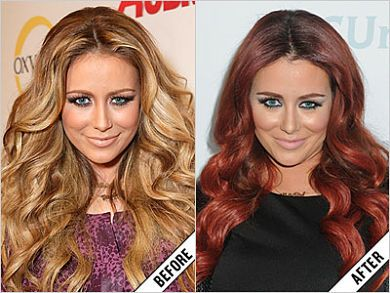 Aubrey O'day Facial Work