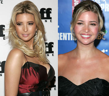 Ivanka Trump nose job before & after