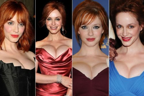 Christina Hendricks' plastic surgery procedures