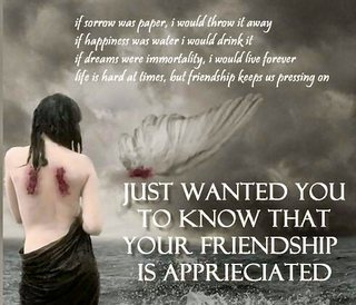 Touching Quotes About Friendship Amazing 19 Heart Touching Friendship Quotes