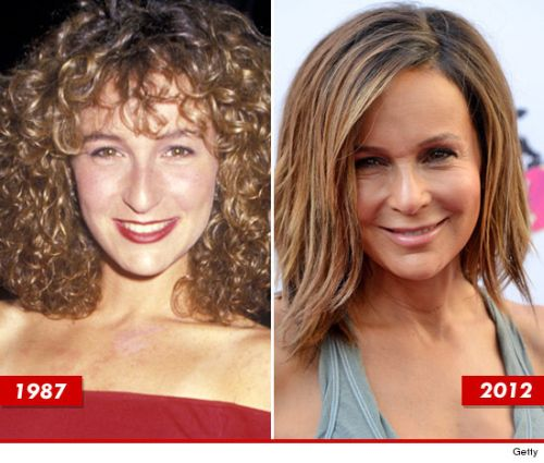 Jennifer Grey plastic surgery gone wrong!