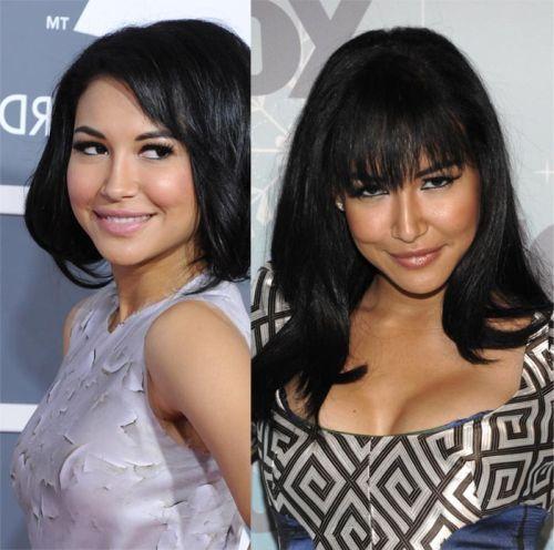 Naya Rivera nose job before and after