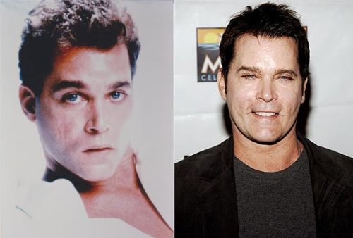 Ray Liotta then and now