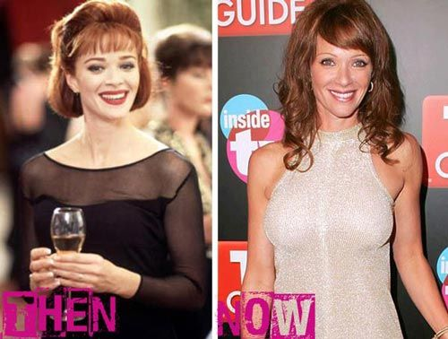 Lauren Holly breast implants before and after