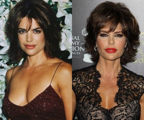 Lisa Rinna then and now