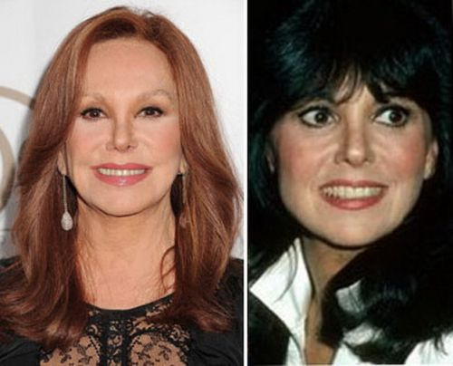 Marlo Thomas now and then
