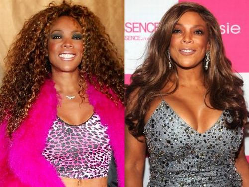 Wendy Williams then and now