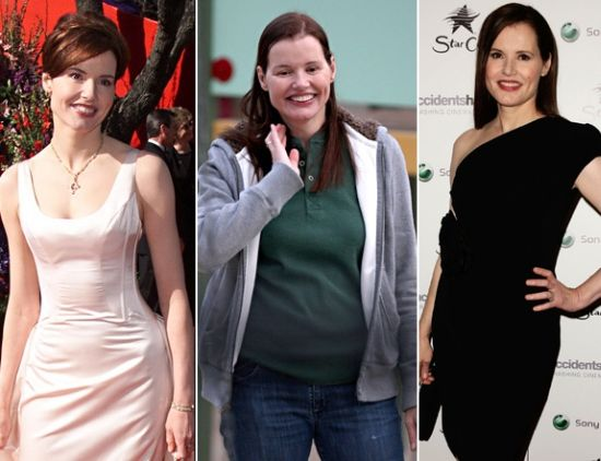 Geena Davis plastic surgery before after photos