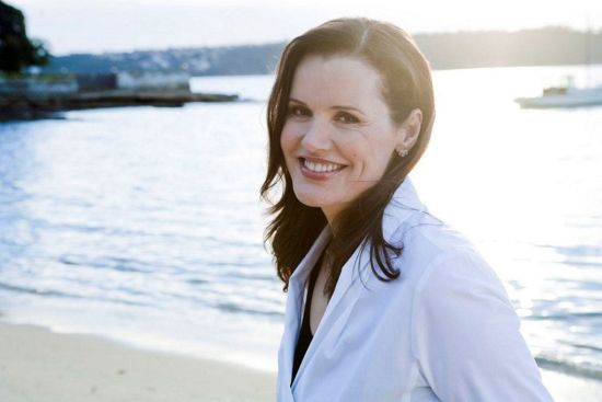 Geena Davis - the natural beauty