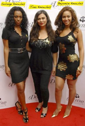 Tina Knowles with Beyonce Knowles