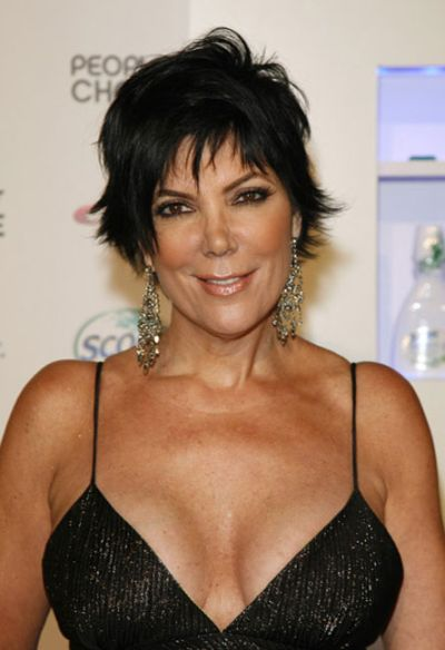Kris Jenner's breast implants photo