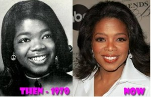 Oprah Winfrey Plastic Surgery – Nose Job Suspected