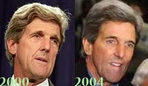 John Kerry Plastic Surgery is Loud and Clear