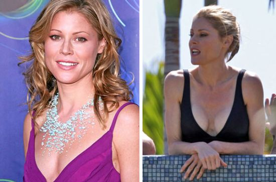 Julie Bowen breast implants before and after