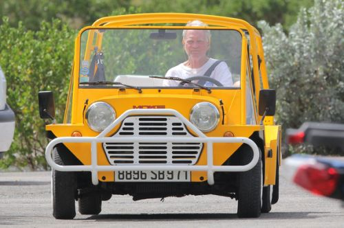 David Letterman's Mini Moke