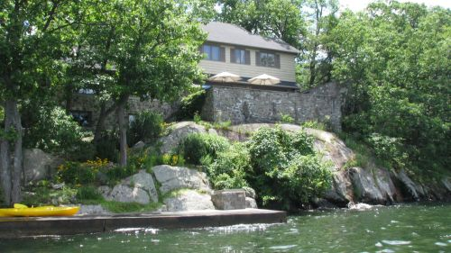Derek Jeter's house on Greenwood Lake