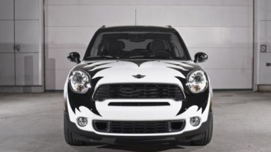 Gene Simmons' Kiss Mini Cooper