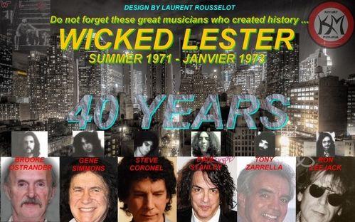 Gene Simmons Wicked Lester