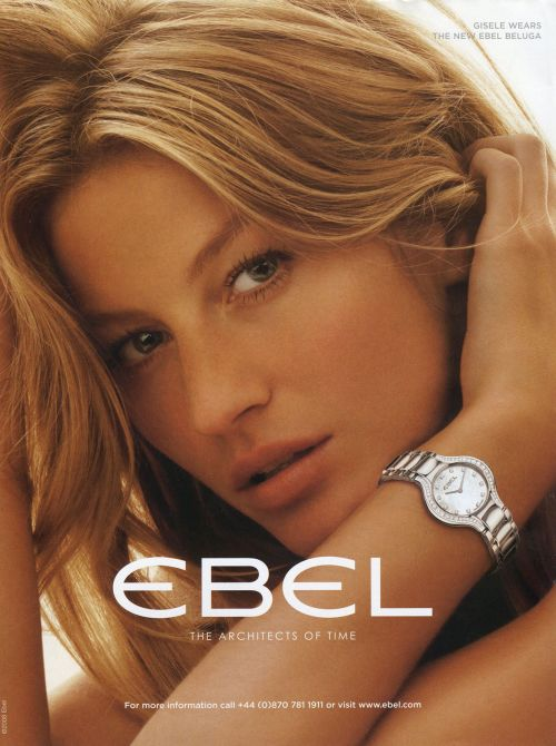 Gisele Bundchen in Ebel campaign