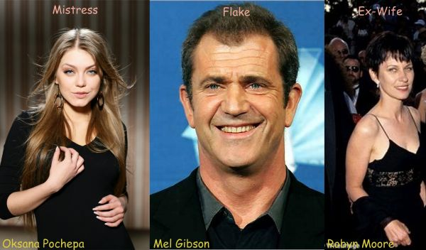 Mel Gibson Robyn Moore photo