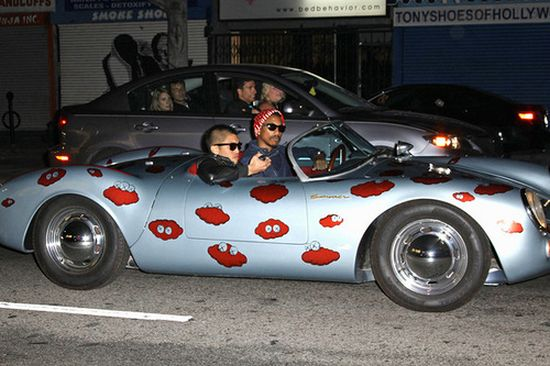 Pharrell Williams car - Porsche Spyde