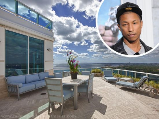 Pharrell Williams' penthouse at Miami