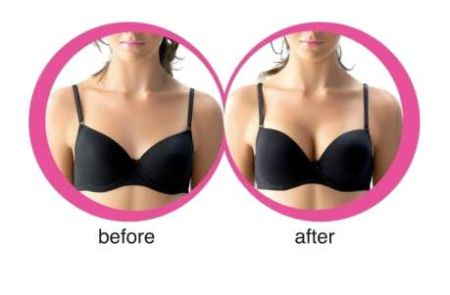 Push Up Bra Before And After photos
