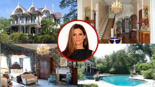 Sandra Bullock's new Orleans house