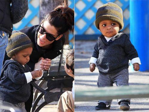 Sandra Bullock's Son Louis