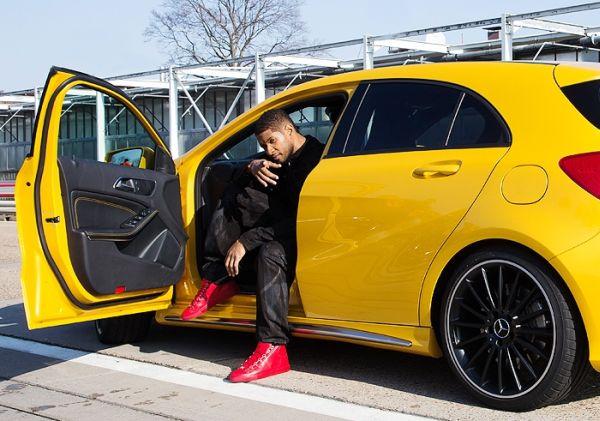 Usher Raymond's Mercedes SLS AMG