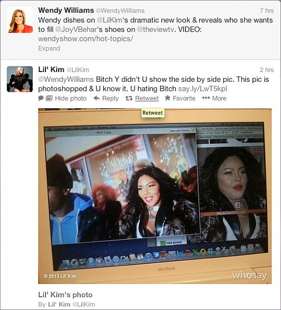Wendy Williams Lil Kim interview