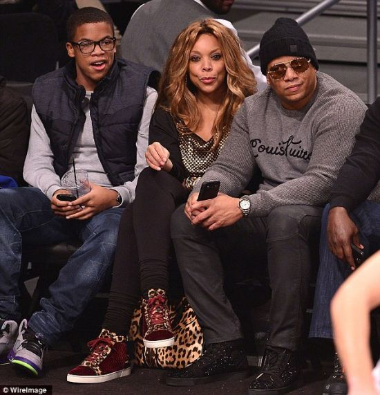 Wendy Williams with husband Kevin and son Kevin Jr