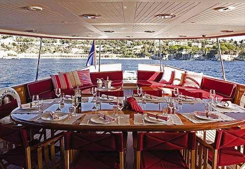 Vajoliroja yacht exterior