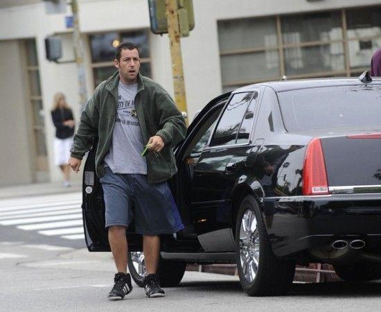 Adam Sandler's car - cadillac DTS