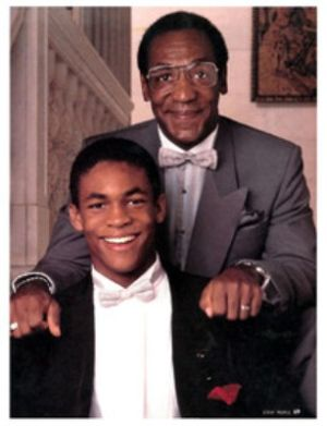 Bill Cosby with his son Ennis