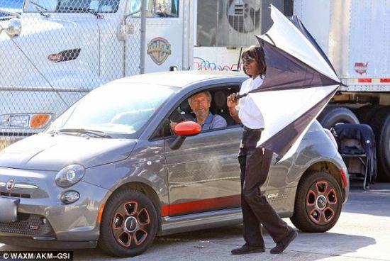 Clint Eastwood's Fiat 500