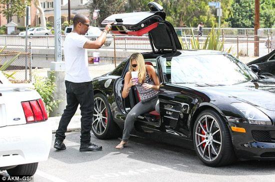 Eddie Murphy's car Mercedes SLS Amg