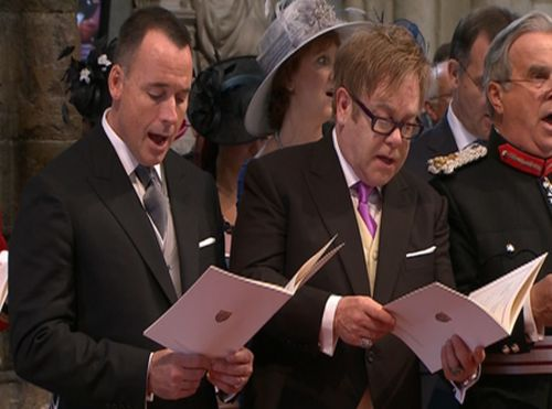 Elton John David Furnish wedding