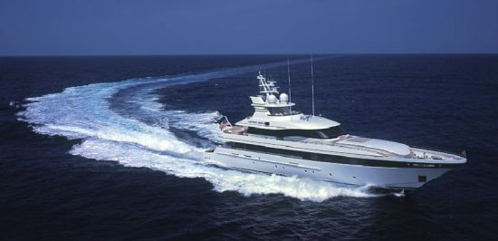 Jeff Gordon's Yacht