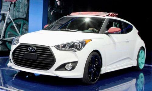 Jennifer Hudson's car - Hyundai Veloster C3