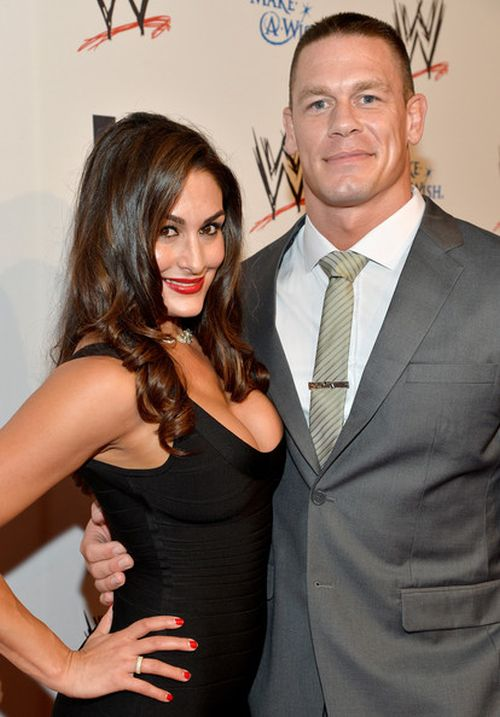 John Cena with Nikki Bella