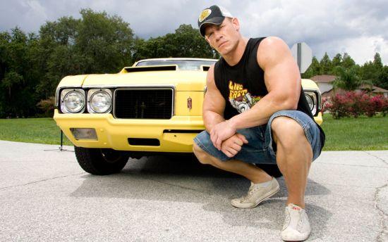 John Cena's car