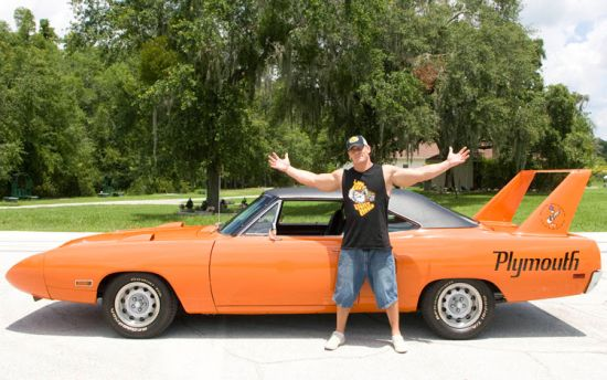 John Cena's car - 1971 Pontiac GTO Judge