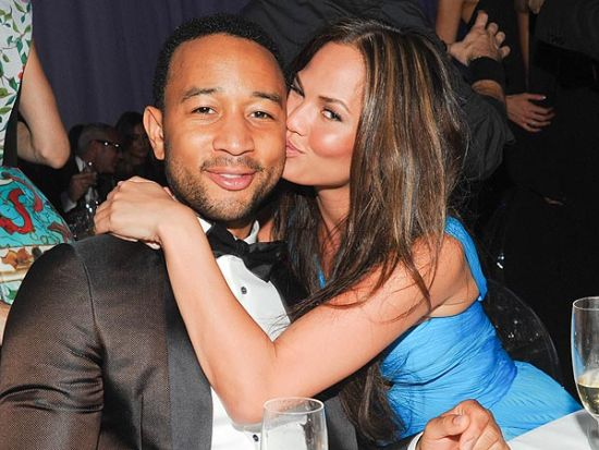 John Legend with wife Chrissy Teigen