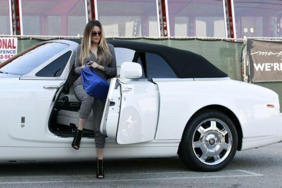 Khloe Kardashian's car - Rolls Royce