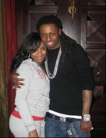 Lil Wayne with ex wife Toya Johnson