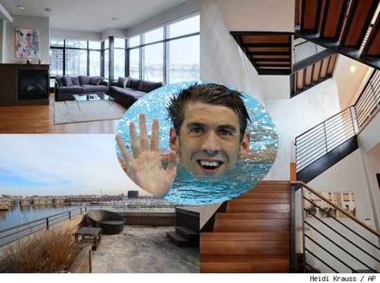 Michael Phelps' house