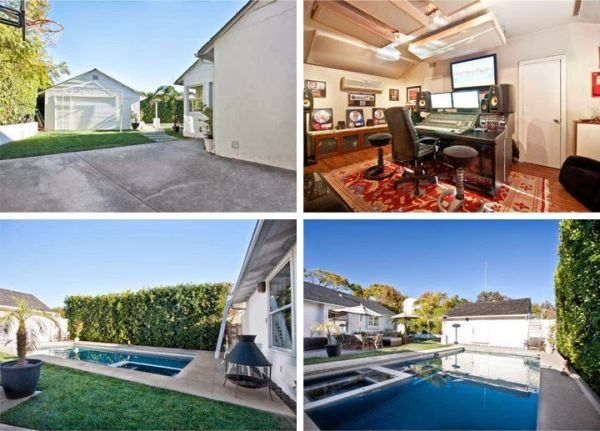 Robert Downey Jr's farm house in Pacific Palisades