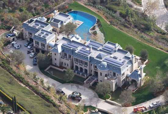 Tom Brady and Gisele's House